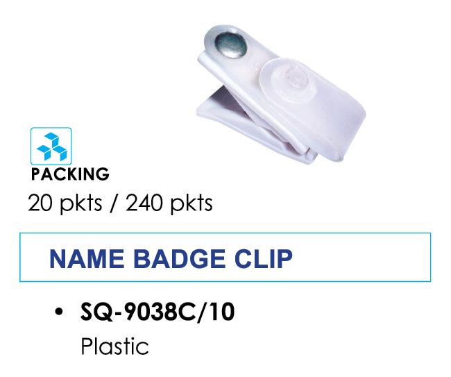 Kẹp bảng tên bằng nhựa SQ-9038C